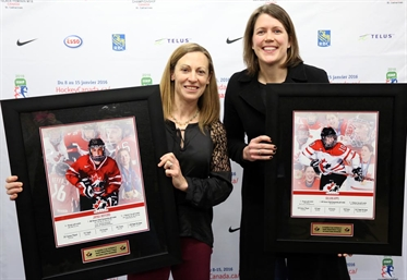 Hefford, Apps, Ward honoured
