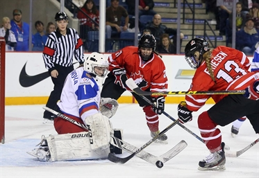 Canada to face U.S. for gold